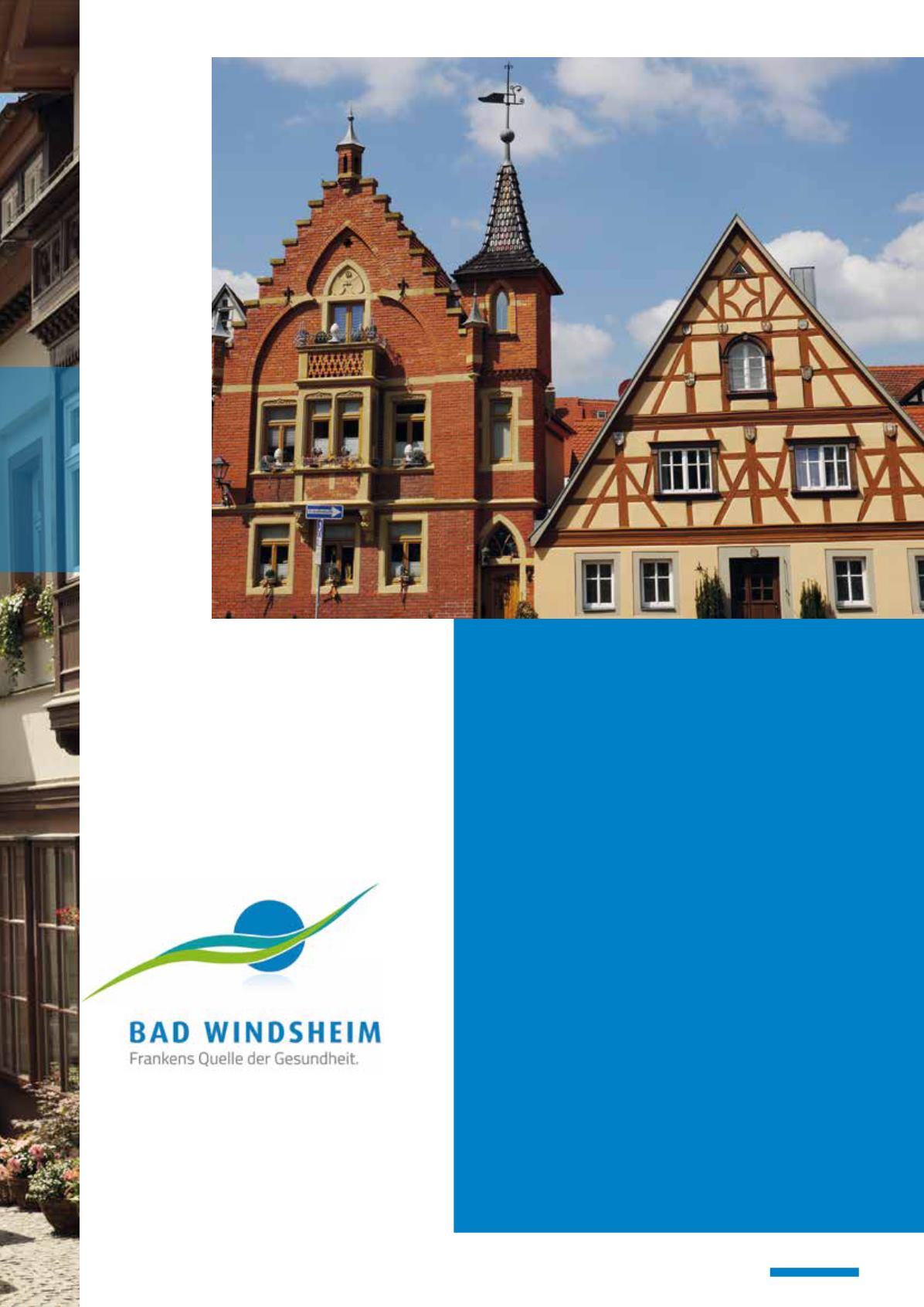 Image- und Informationsbroschüre Stadt Bad Windsheim